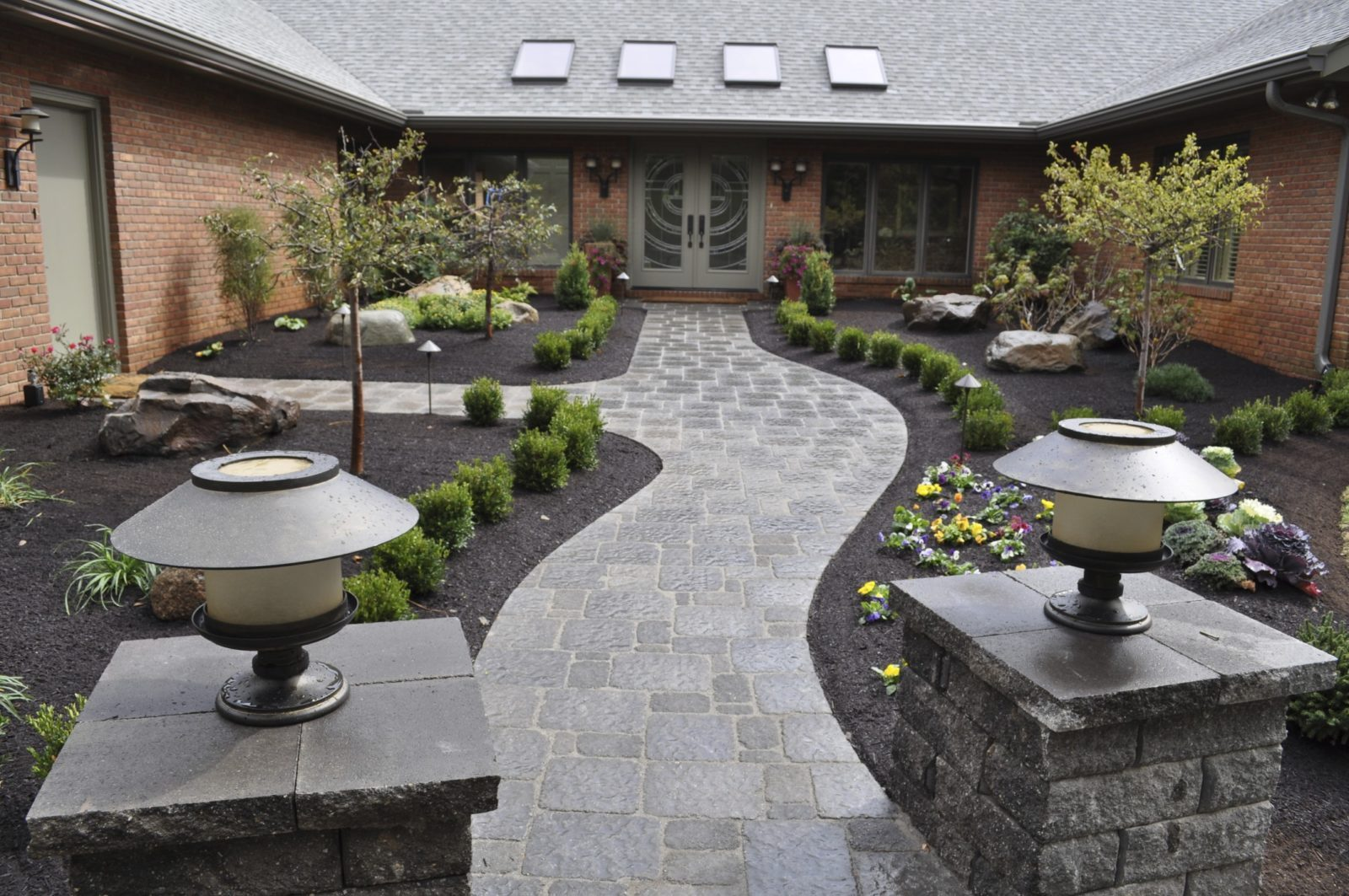 bay easy construction hardscape masonry concrete ideas bay